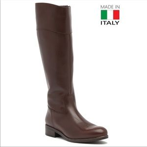 Italian Shoemaker Leather Boots New